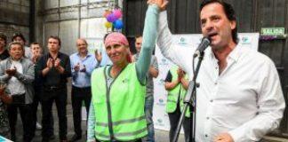 Ariel Sujarchuk inauguró el primer centro municipal de reciclado de residuos sólidos urbanos