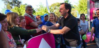 Barrio La Victoria de Belén: Ariel Sujarchuk inauguró la nueva plaza, una posta policial y una UGC