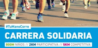 Carrera solidaria #TuManoCorre