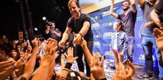 Contundente victoria: Con un 64,9% Ariel Sujarchuk fue reelecto en Escobar